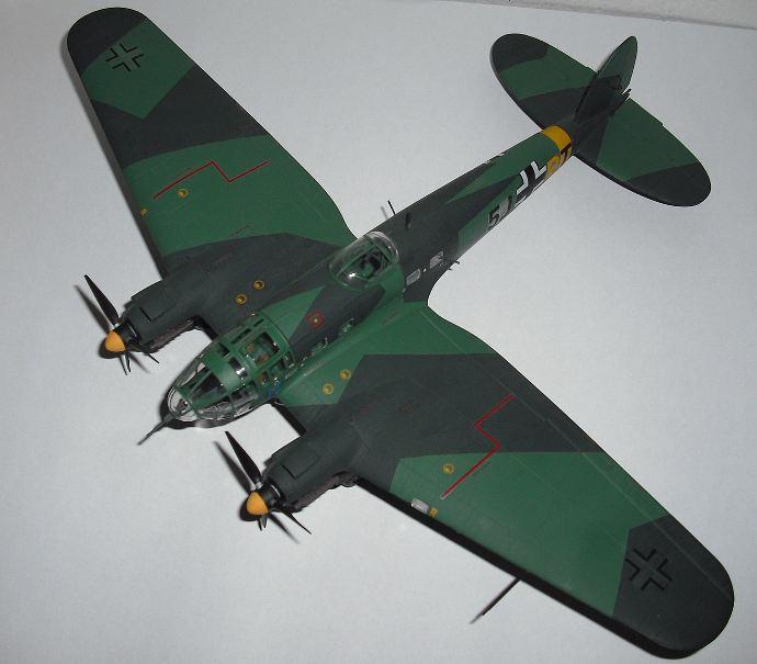 A 1-72 scale Revell Heinkel He 111