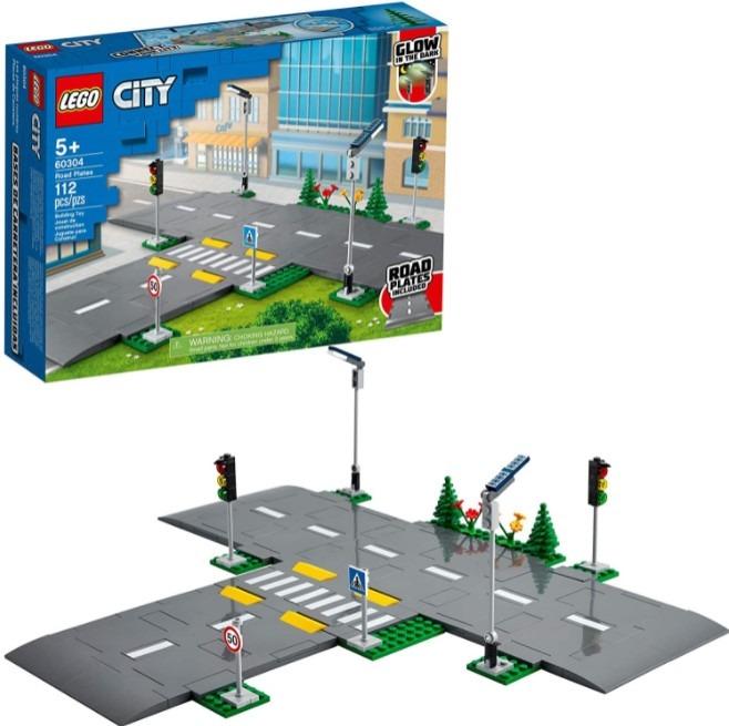 LEGO City Road Plates 60304 Building Kit